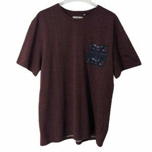On The Byas PacSun Mens Pocket T Tee Shirt Purple